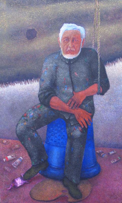 Artiste-sur-le-de-Klein