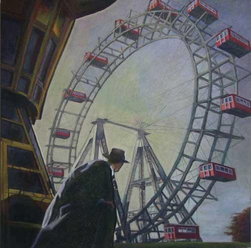 La grande roue du Prater  122x122,5 - 2014
