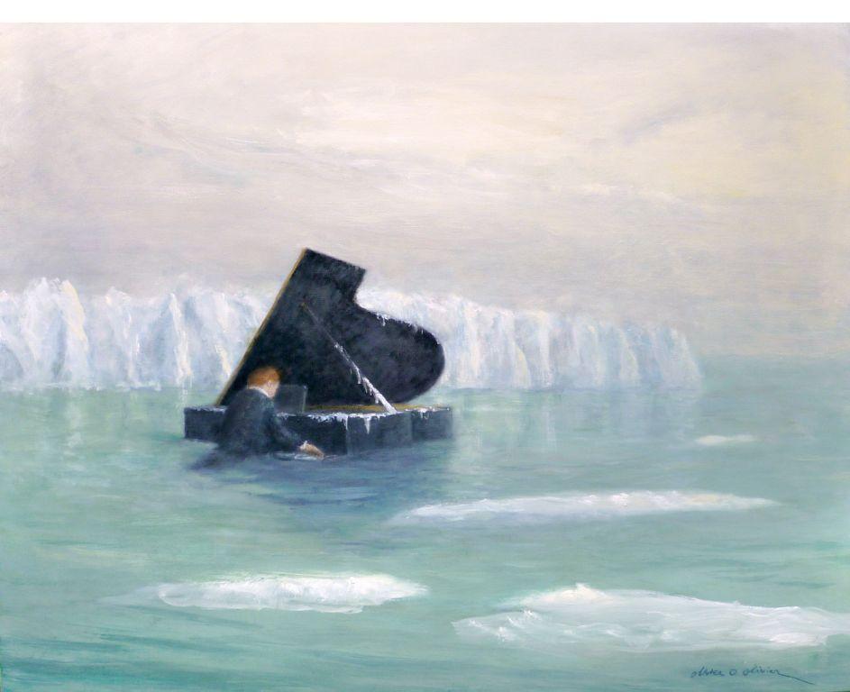 Minuit - 2011 - huile sur toile - 130 x 162
