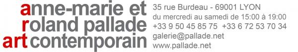 Une expo. Claude Gazier, du 16 septembre au 18 novembre à la Galerie Pallade de Lyon Amrp-ARIAL-rouge-gris70-droite-avec-adresse-test-600x105