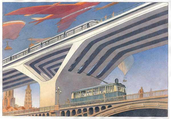 5 Le pont Montpellier