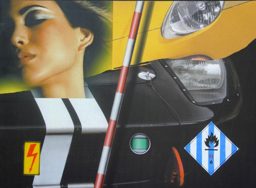 KLASEN-Cars-and-Girls-H6-Haute-tension-130x97-2006