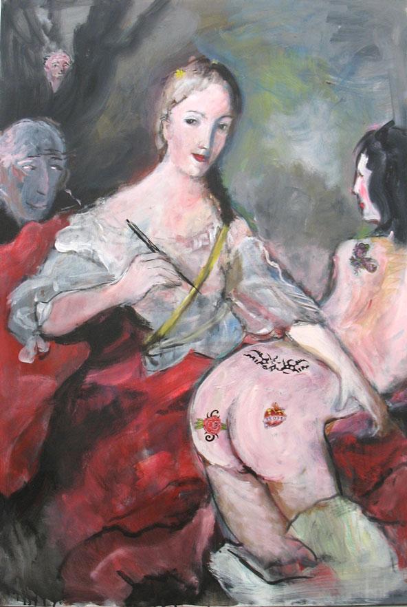 La reine du tatou 130x89
