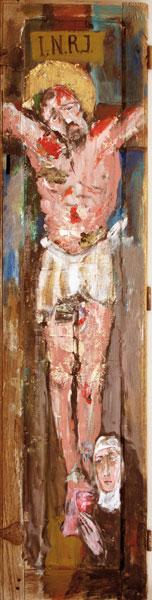 Il y a longtemps - acrylique sur bois - 162 x 50 - 2017