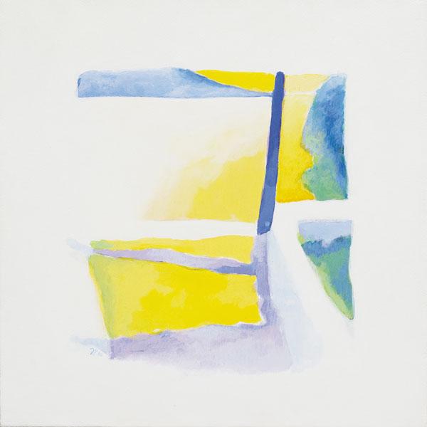 Vers le blanc 2 - Acrylique sur toile - 40 x 40 - 2016