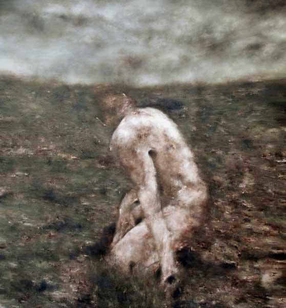 Aurore - huile sur toile - 2016 - 150 x 140