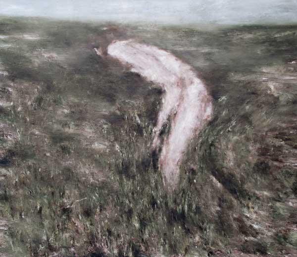 Orietur - huile sur toile - 2014 - 120 x 140