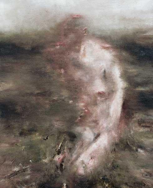Sans titre 2 - huile sur toile - 2016 - 41 x 33