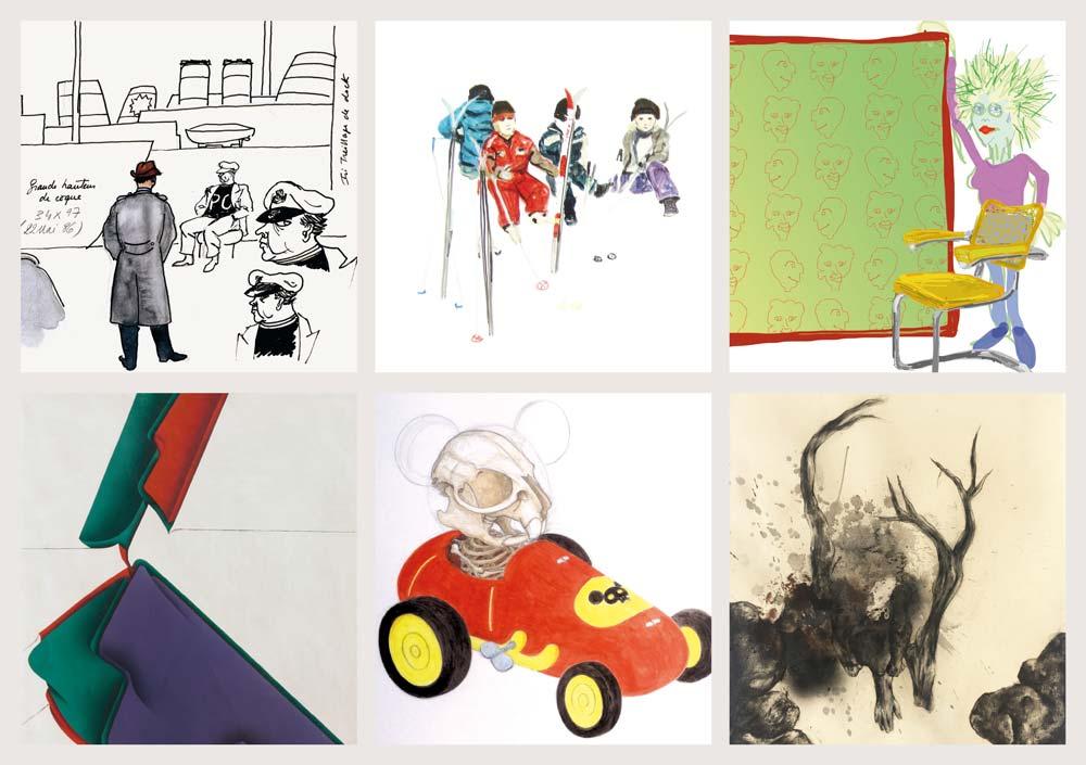 D'après nature ? - 6 artistes choisis par Robert Bonaccorsi