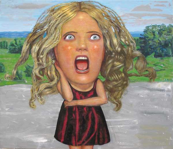 ANDREA - Mujer en Uruguay 60 x 70 2010