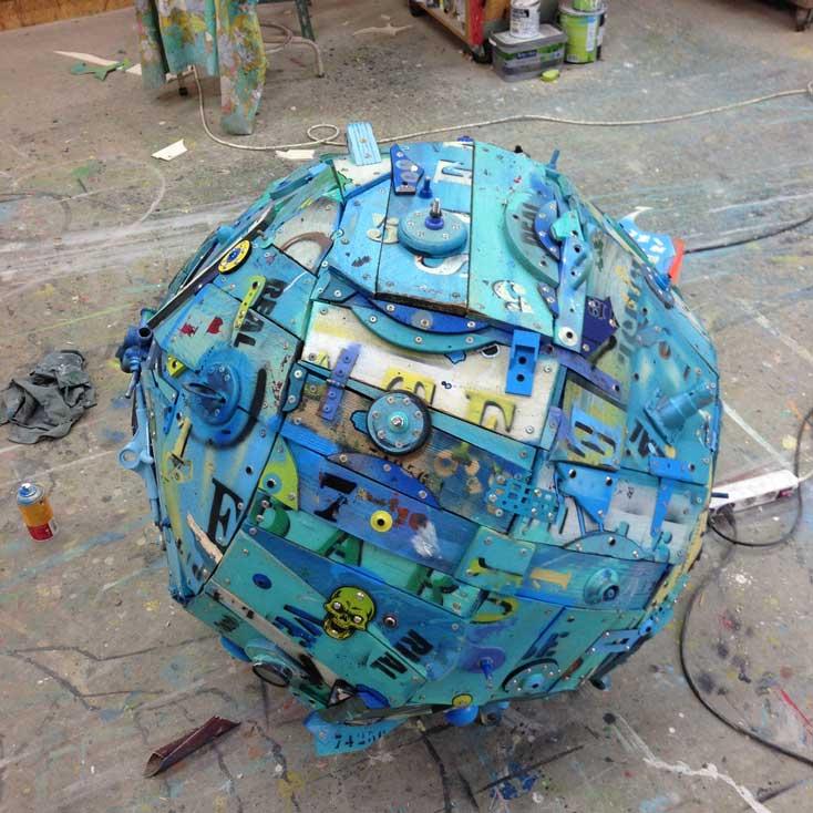 Bakugan La boule bleue diam 90 cm 2013