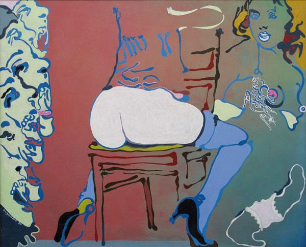 GUYOMARD - Suzanne et les vieillards 81x100 1970