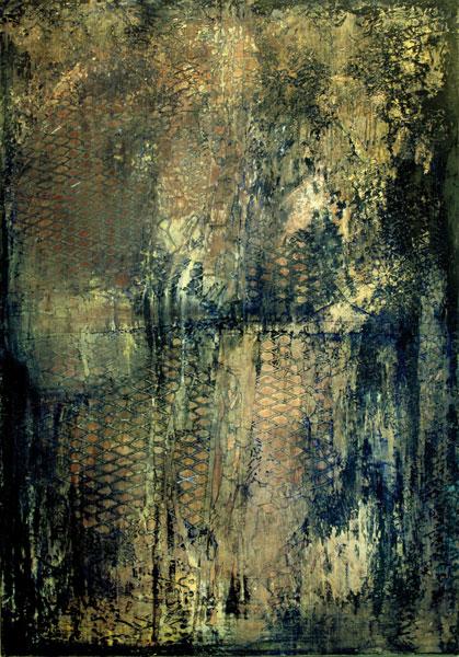 LEBOULCH - Annie noire 116x81 1974-89