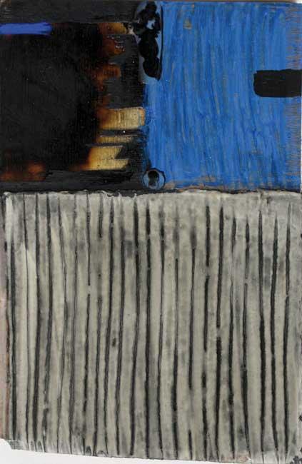 Sans titre B39-16 Huile et résine sur bois, 47 x 31