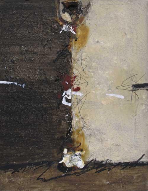 Sans titre T02-15 Huile et résine sur toile, 65 x 50