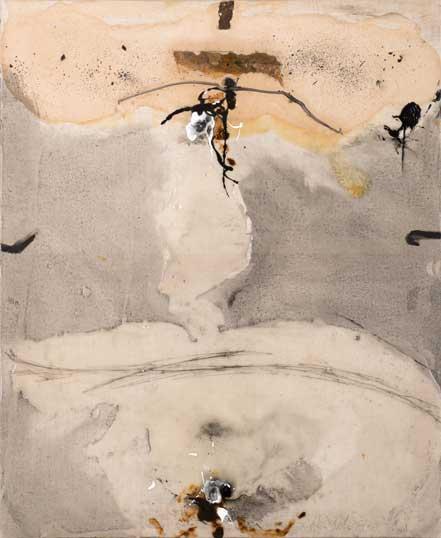 Sans titre T07-15 Huile et résine sur toile, 61 x 50