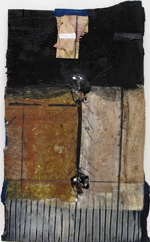 Seve B36-16 Résine et collage sur bois, 70 x 41
