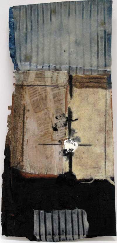 Seve B37-16 Huile et résine sur bois, 57 x 27