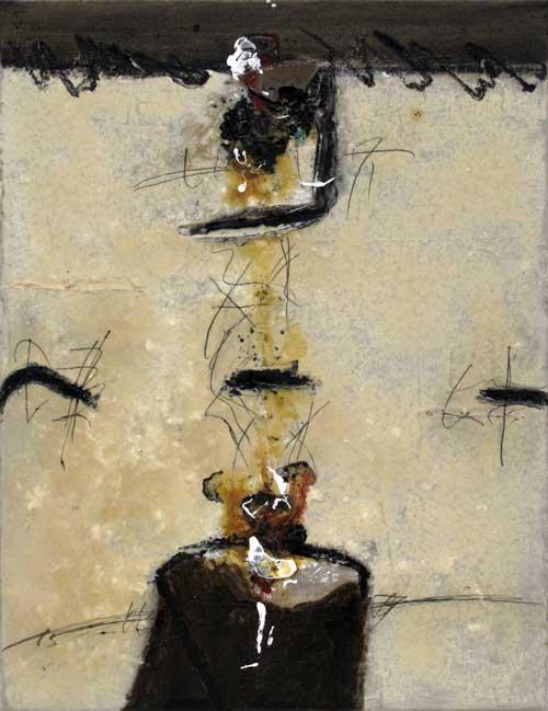 Seve T01-15 Huile et résine sur toile, 65 x 50