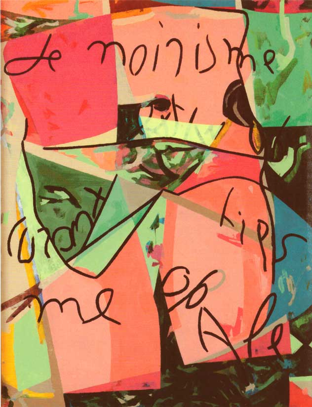 Telemaque - Etui verdoyant 2012 acrylique sur toile 65 x 50