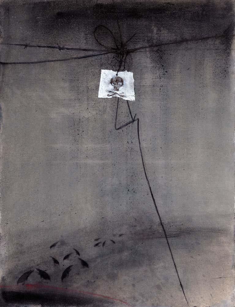 Danger 2, 2016, huile sur toile, 116 x 89 cm