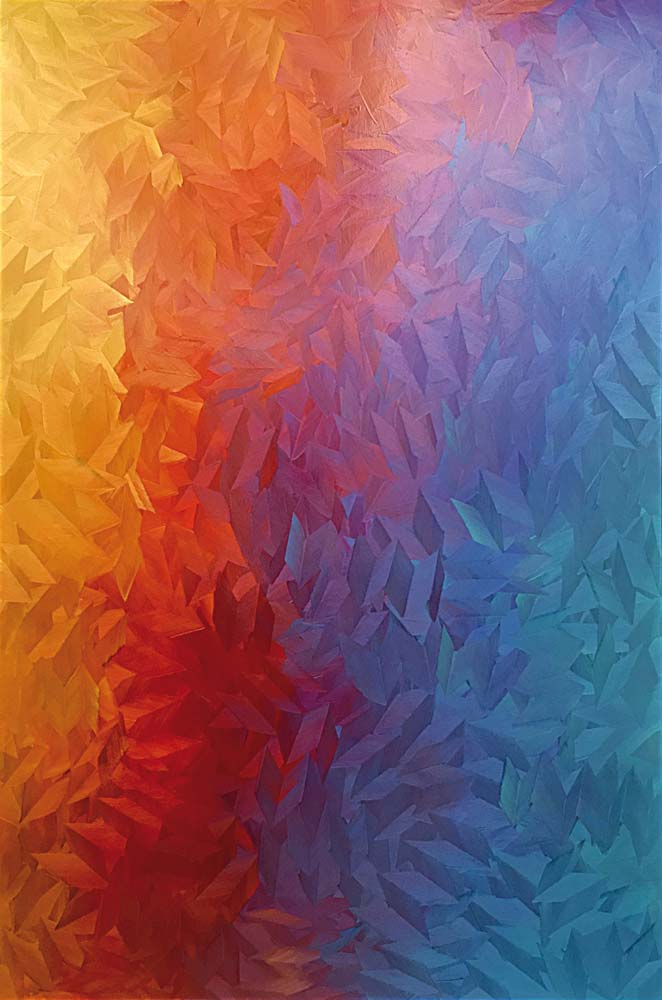 Arco-iris - 2018 - huile sur toile - 195 x 130-su