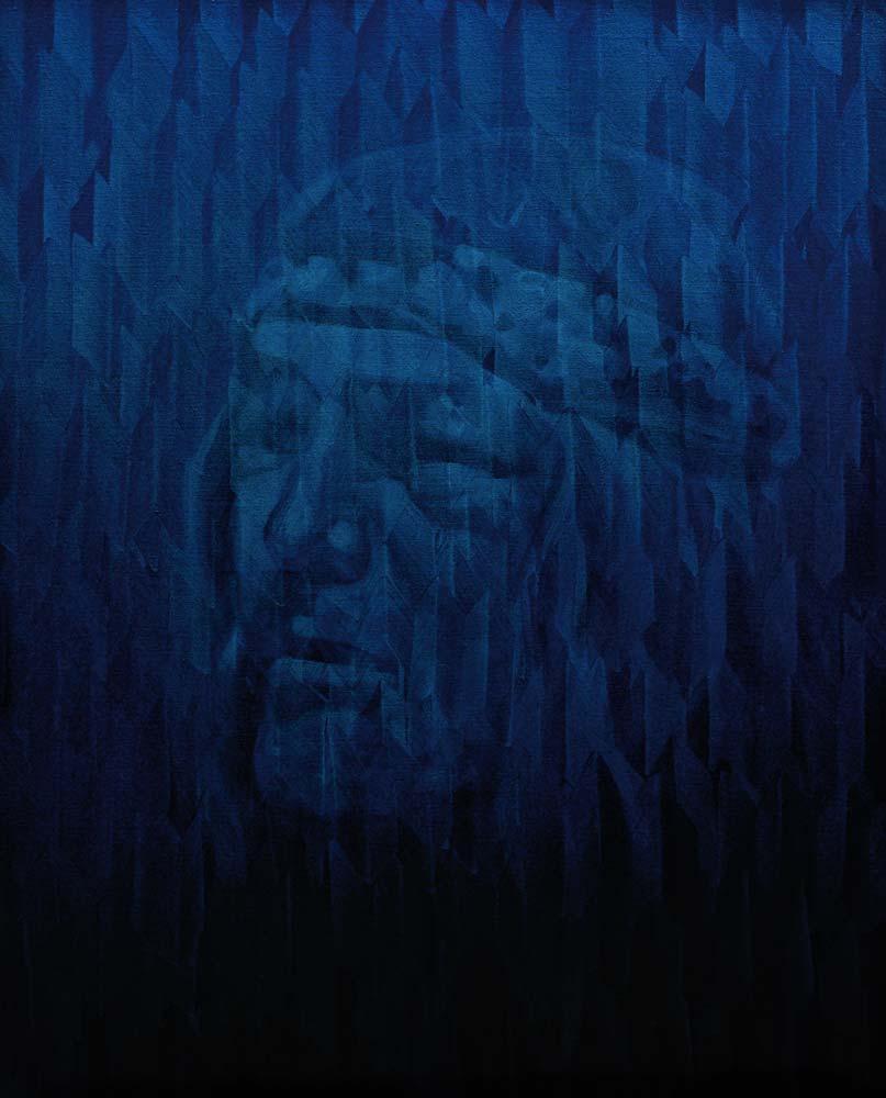 Castaneda - 2018 - huile sur toile - 81 x 100