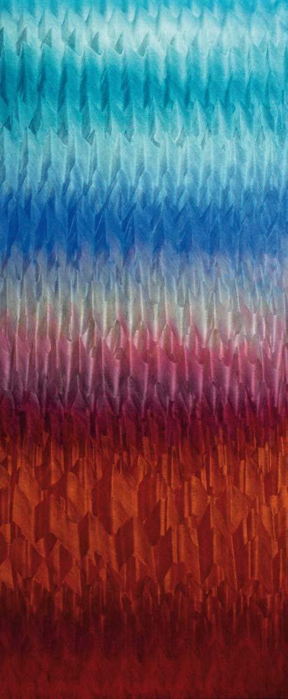 El horizonte - 2018 - huile sur toile - 180 x 76
