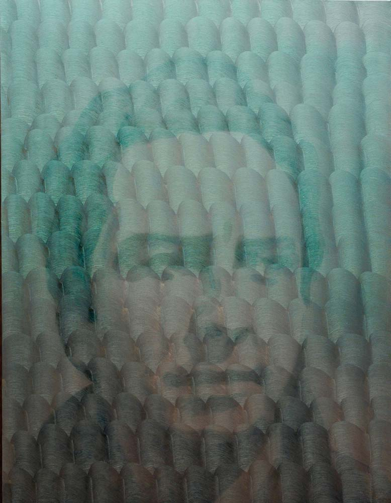 Olvidate - 2018 - huile sur toile - 116 x 89