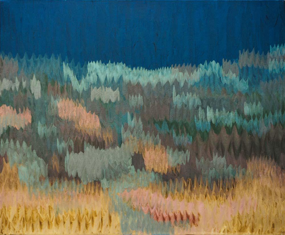 Petit paysage - 2018 - huile sur toile - 50 x 60