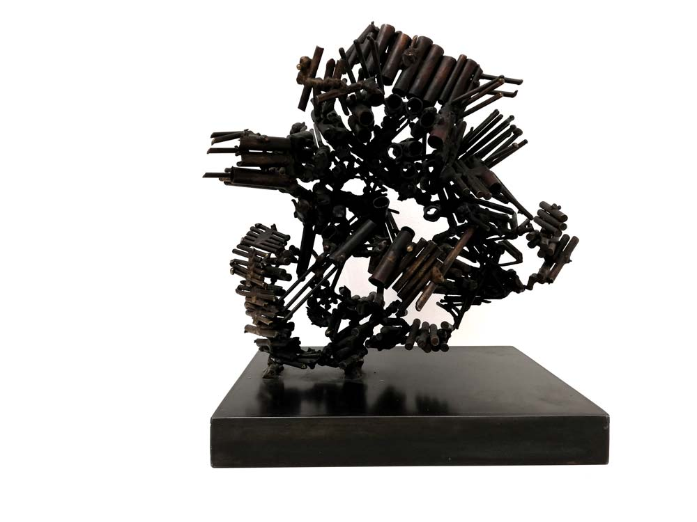 Transparence - 1962 - bronze soude - 32 x 31 x 20